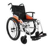 Excel G-Explorer Self Propel All Terrain Wheelchair Silver Frame 18 inch standard seat